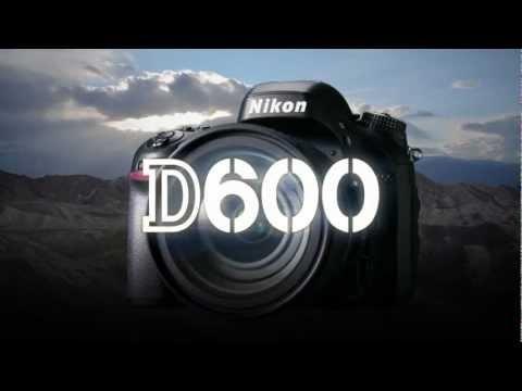 #NIKON #D600 la più piccola e leggera reflex digitale Nikon formato FX