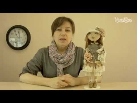 """Приглашение на онлайн-школу по созданию лица куклы """"Эльза"""" - YouTube"""