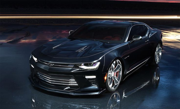 SEMA: 2017 Chevrolet Camaro SS Slammer Concept combines classic and modern cues