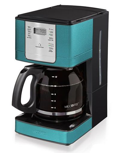 49 99 from House of Turquoise Mr Coffee Turquoise Coffee Maker