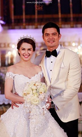 Official Wedding Site of the Kapuso Primetime King and Queen – Dingdong Dantes and Marian Rivera