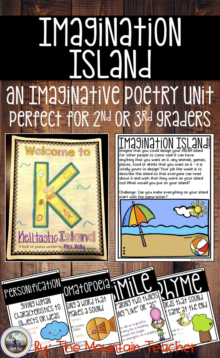 letter formation poems%0A Imagination Island Poetry Writing Unit
