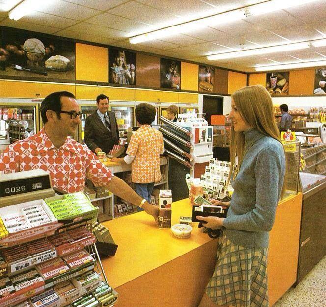 The corner 7-11 convenience store ... circa 1973