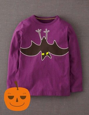I've spotted this @BodenClothing Spooky T-shirt Thistle/Bat