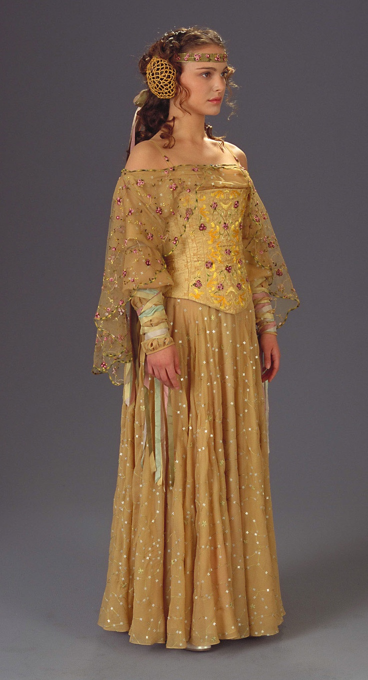 Padme's #yellow #dress