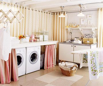 Basement Laundry Makeover  Dreamy laundry room with sensational tips!:)