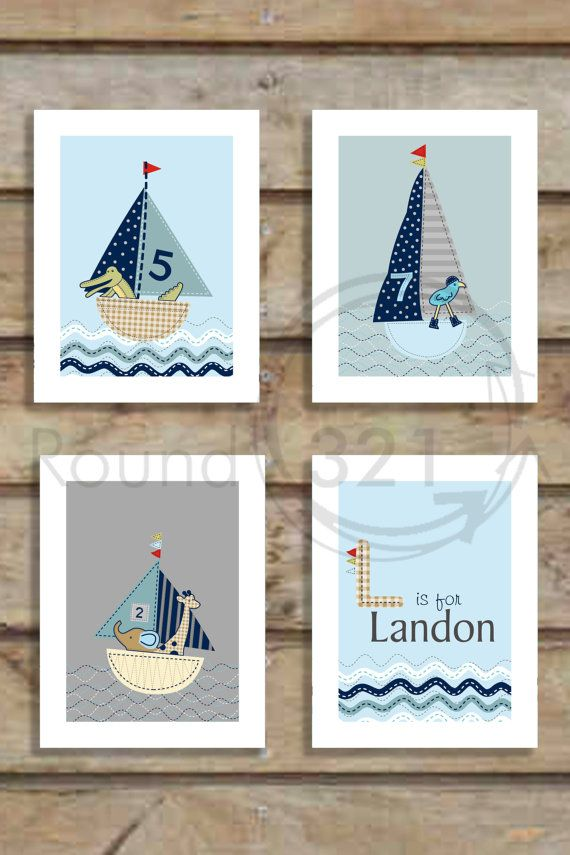 Best Whalenautical Nursery Images On Pinterest Nautical -  custom pontoon decals