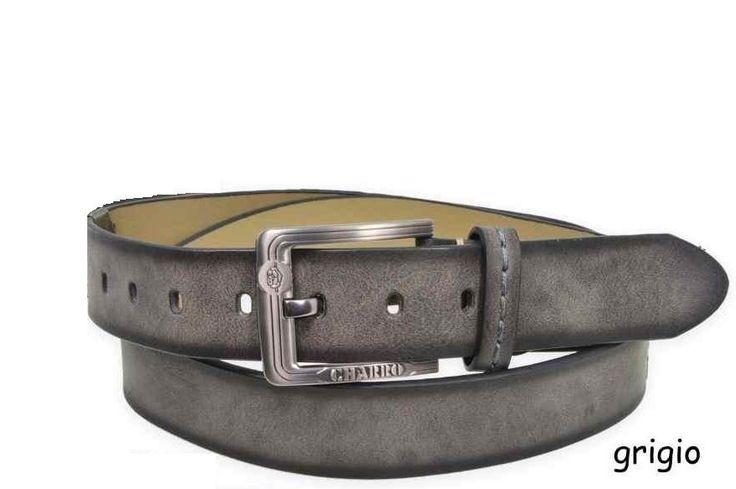 Cintura uomo Charro Grey C2027-68U40 115 cm ottima idea regalo