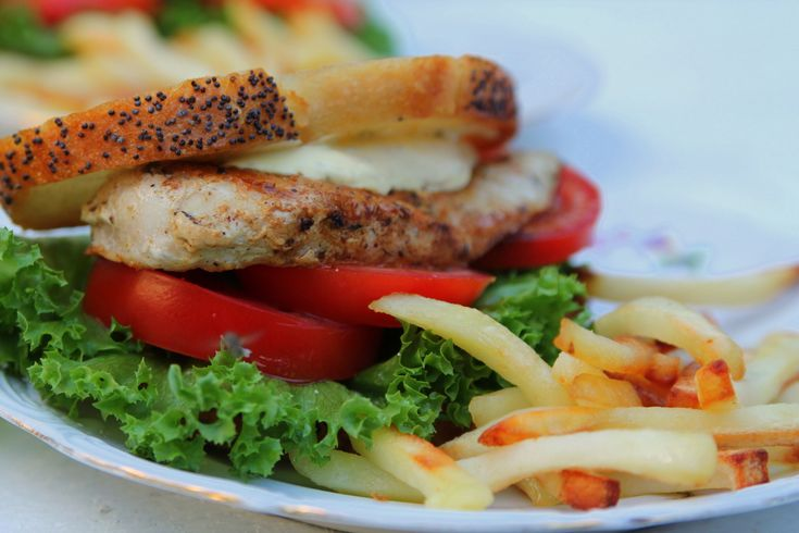 Kyckling sandwich