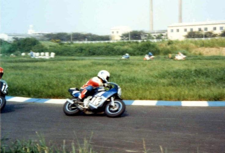 YAMAHA YSR at Shonan Speed Park
