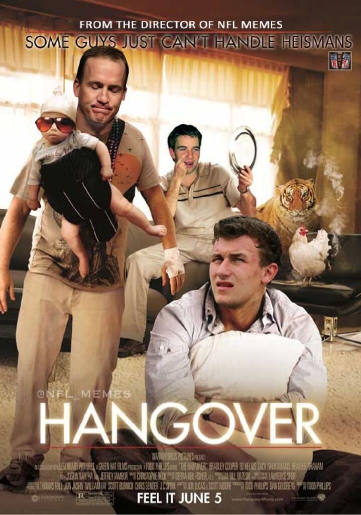 Twitter / NFL_Memes: Johnny Manziel & the Manning ...