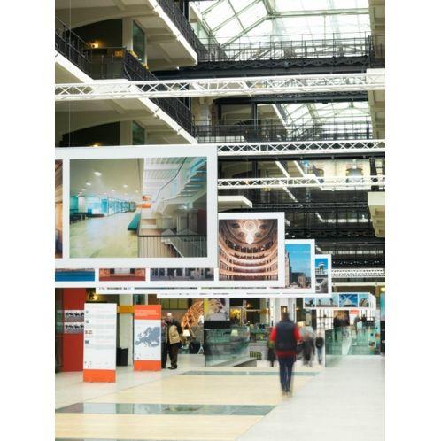 lichte frames voor presentatie in bijv. winkelcentra