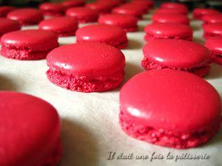 Recette de base détaillée - Coques à macarons - meringue italienne - Il était une fois la pâtisserie