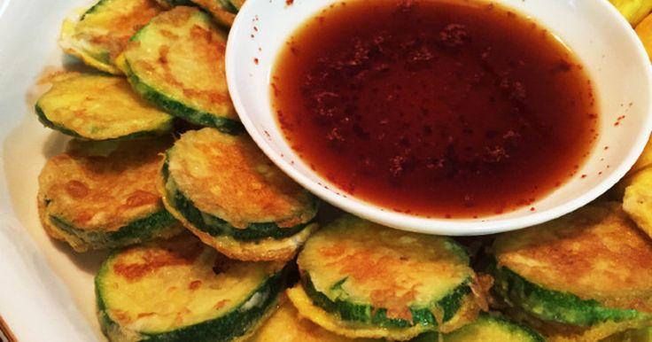 韓国料理☆ズッキーニのチヂミ by キムミヒ [クックパッド] 簡単おいしいみんなのレシピが270万品