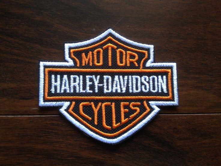 Patch / Ecusson Harley Davidson HD biker 9 x 7,5