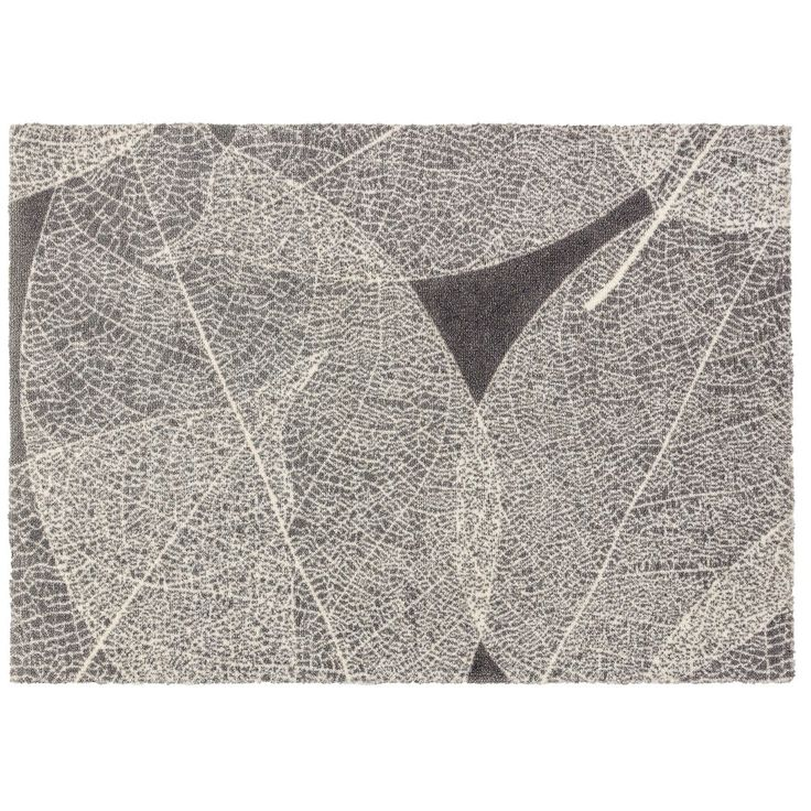 Schöner Wohnen Fussmatte Brooklyn Blätter 50x70 cm Fußmatten waschbare Türvorleger