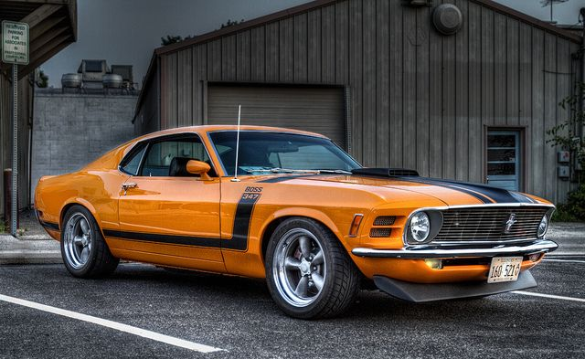 1970 Boss Mustang 347. Awesome American Musclecar