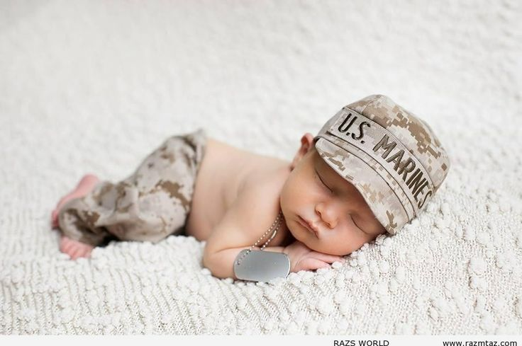 This would be so cute to do a tribute for my dad!! 17585 10151720803593394 1118419359 n PRECIOUS U.S. MARINE BABY