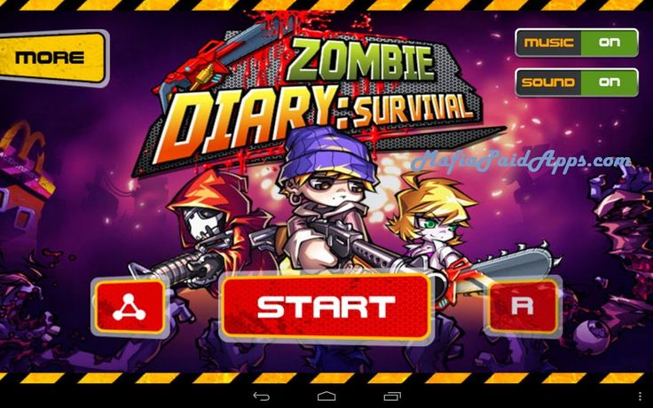 Zombie Diary v1.2.7 Mod Apk   A diary recording a period of history about a miserable and unimaginable world and a legendary person has been found by generations of humanity. In 2013 A.D. resident evil breaks out. Zombies dominate our planet which is becoming bloody hell. As the only survival citizen you must kill all the zombies in the world who are trying to attack you. Human's mission lies on your shoulder.  Now you can pick up weapons to fight for human's density kill the endless…