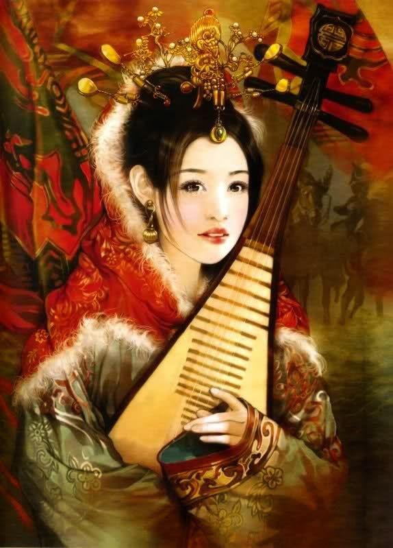 Pinturas do AUwe - Der Jen - Pinturas - Beleza Chinesa                                                                                                                                                                                 Mais