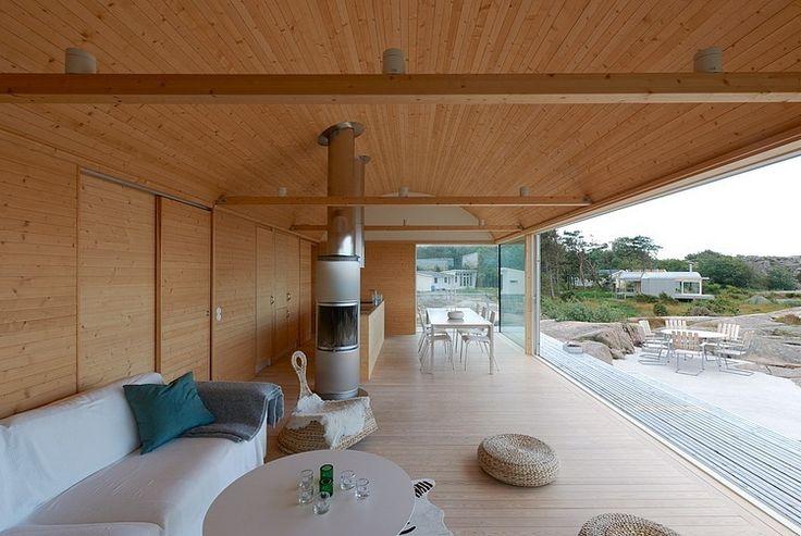 Slavik Summerhouse by Fahlander Arkitekt