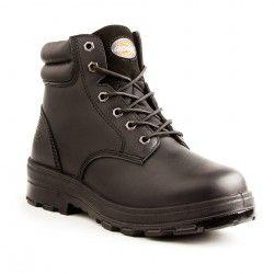 Dickies Zapato de trabajo II para lugar de mujeres, negro, 6 M US