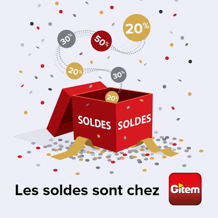 C'est les soldes chez Gitem Cholet.  Venez profiter de nos offres multimédia, TV, Electroménager, Electronique, etc...