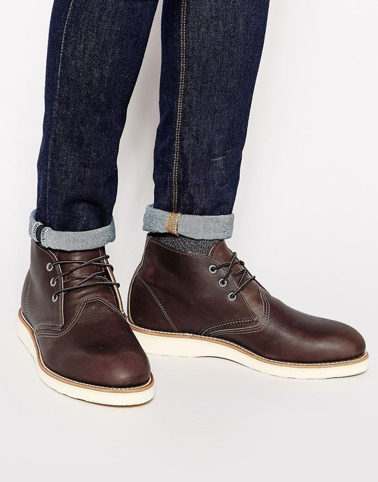 1000  ideas about Red Wing Chukka Boots on Pinterest | Red wing
