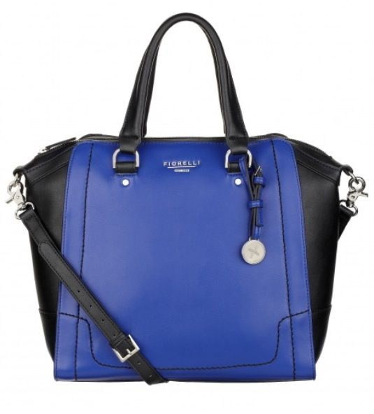Black And Blue Handbag | Luggage And Suitcases