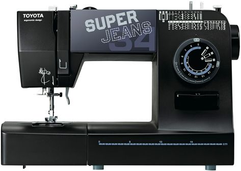 Machine à coudre Toyota Super Jeans 34 XL