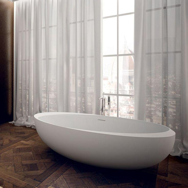 Ovalt badekar