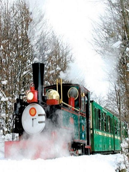 The World's End Train, Ushuaia (Patagonia), Argentina
