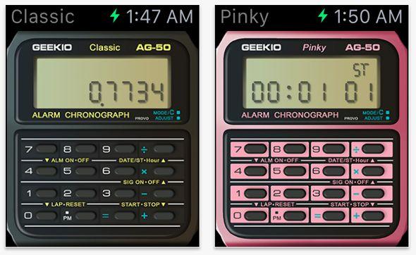 Una App Convierte el Watch en la Calculadora Reloj de Casio