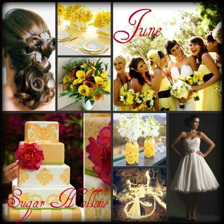 June Wedding Ideas U003c3