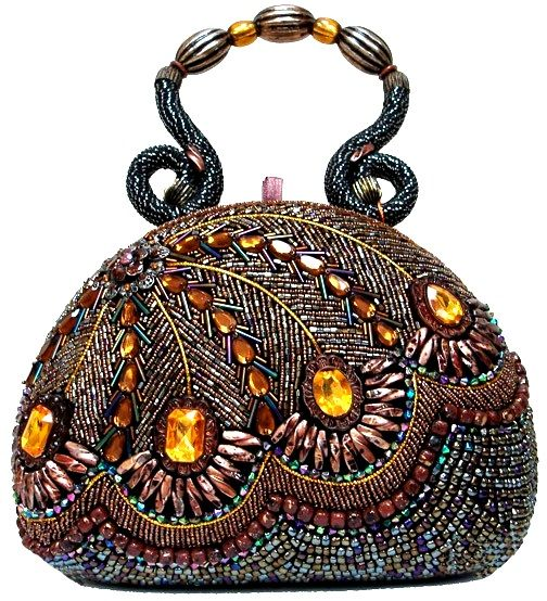 Beaded peacock bag. Gorgeous! - Oh no! The link doesn't work anymore!