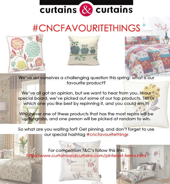 All the details of our fantastic #competition! #cncfavouritethings