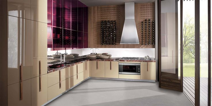 Italian Modern Design Kitchens - Barrique by Ernestomeda kitchen - ernestomeda barrique