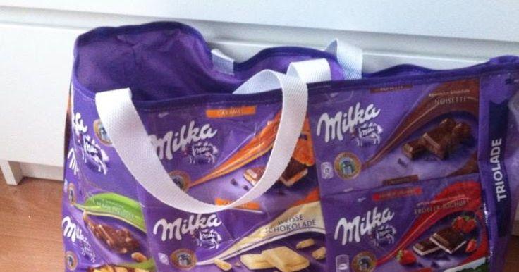 So, weil so viele eine Anleitung haben wollten zu der Milka Tasch e, mach ich das halt :D    Ich hab jetzt keine Fotos, ich werde jetzt n...