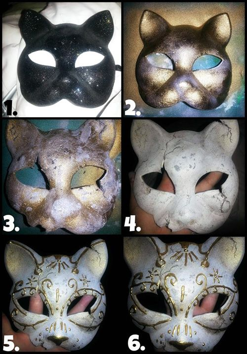 Kitty Splicer Mask from BioShock Tutorial http://geekxgirls.com/article.php?ID=2632