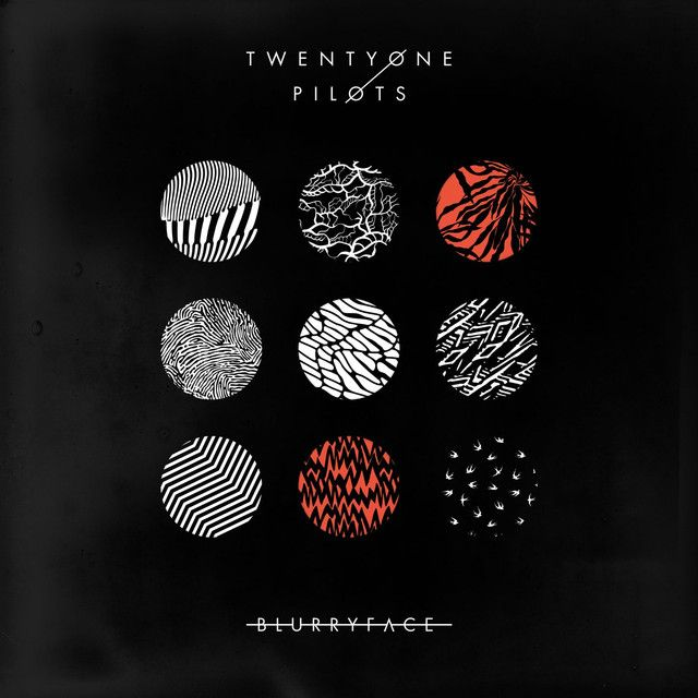 """""""Stressed Out"""" by Twenty One Pilots added to Today's Top Hits playlist on Spotify From Album: Blurryface"""