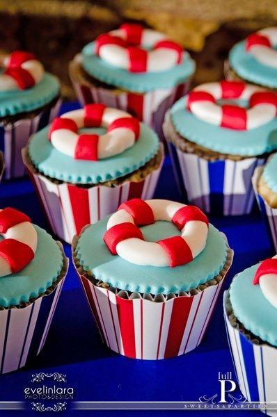 Life saver cupcakes