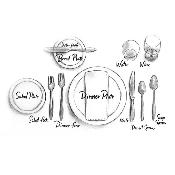 Best 25+ Proper table setting ideas only on Pinterest ...