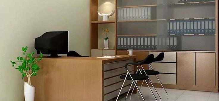 Desain Mebel Meja Kerja Kantor