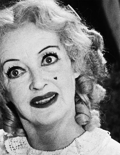 Whatever Happened to Baby Jane - my Mum scared me half to death with this film when I was little! Encouraging.