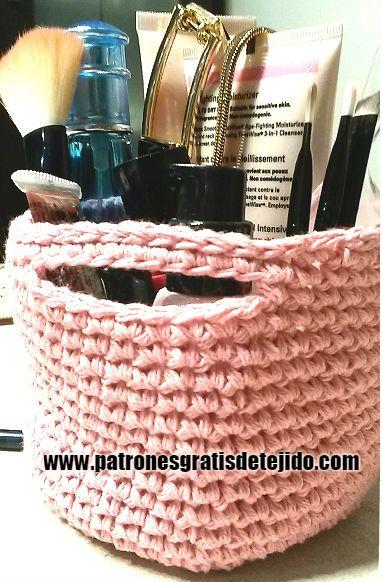 Cómo tejer cesta a crochet con tutorial en video
