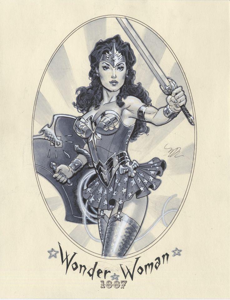 Steampunk superheroes-Female Superheroes of1887 - News - GeekTyrant