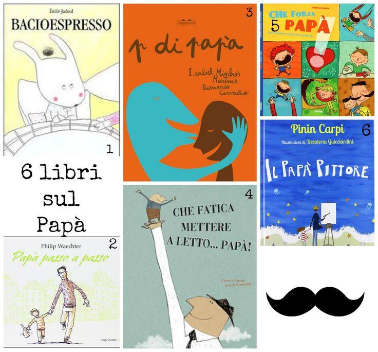 MadreCreativa: Sei libri sul papà