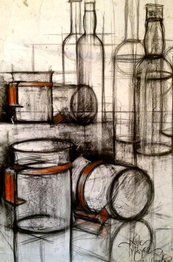 On My Off Days | Artwork by Jamie Mayne