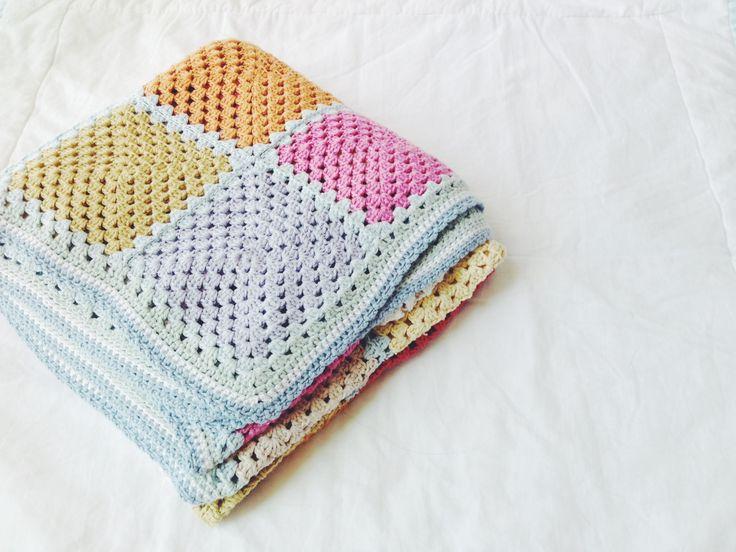 Mejores 34 imágenes de mantas en Pinterest | Punto de crochet ...