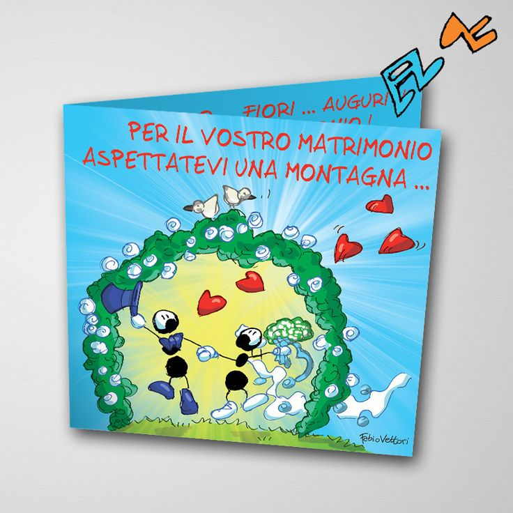 Biglietto musicale Matrimonio (FV07-11) | Le Formiche di Fabio Vettori #formiche #fabiovettori #biglietto #auguri #musica #music #fun #regalo #gift #matrimonio #innamorati #love